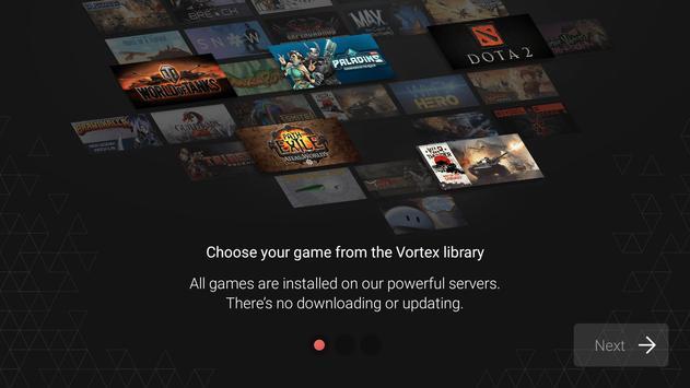 Vortex Cloud Gaming apk स्क्रीनशॉट