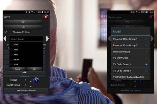 Remote Control For All TVs apk screenshot