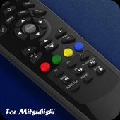 TV Remote for Mitsubishi icon