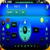 Universal Remote Control TVpro icon
