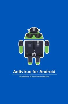 Antivirus for Android Guide poster