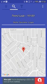 My Location - Nigeria Postal Codes screenshot 1