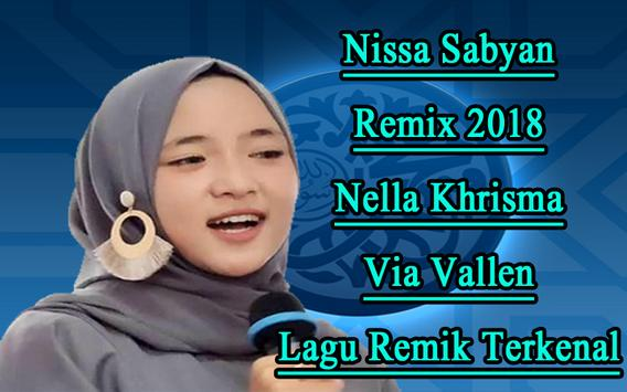 Dj Nissa Sabyan poster