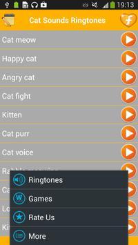 Cat Ringtones Funny Sounds apk screenshot