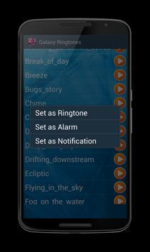 Ringtones Galaxy apk screenshot