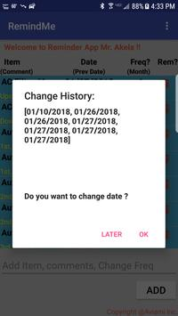 RemindMe apk screenshot
