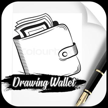 Drawing wallet poster