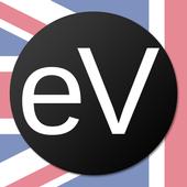 eVerbs - irregular verbs icon