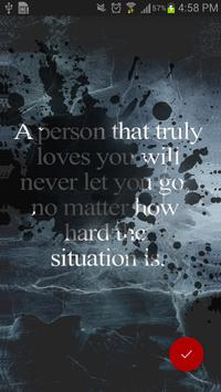 Break Up Quotes Wallpaper screenshot 2