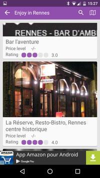 Rennes City Guide apk screenshot