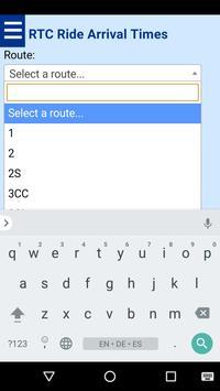 Reno RTC Ride Bus Tracker screenshot 1