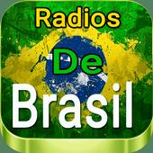 Radios De Brasil Gratis icon