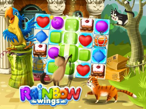 Rainbow Wings screenshot 5