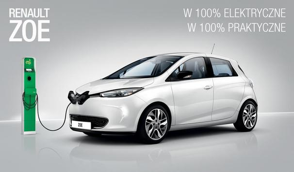 RENAULT ZOE MAG PL Mobile poster