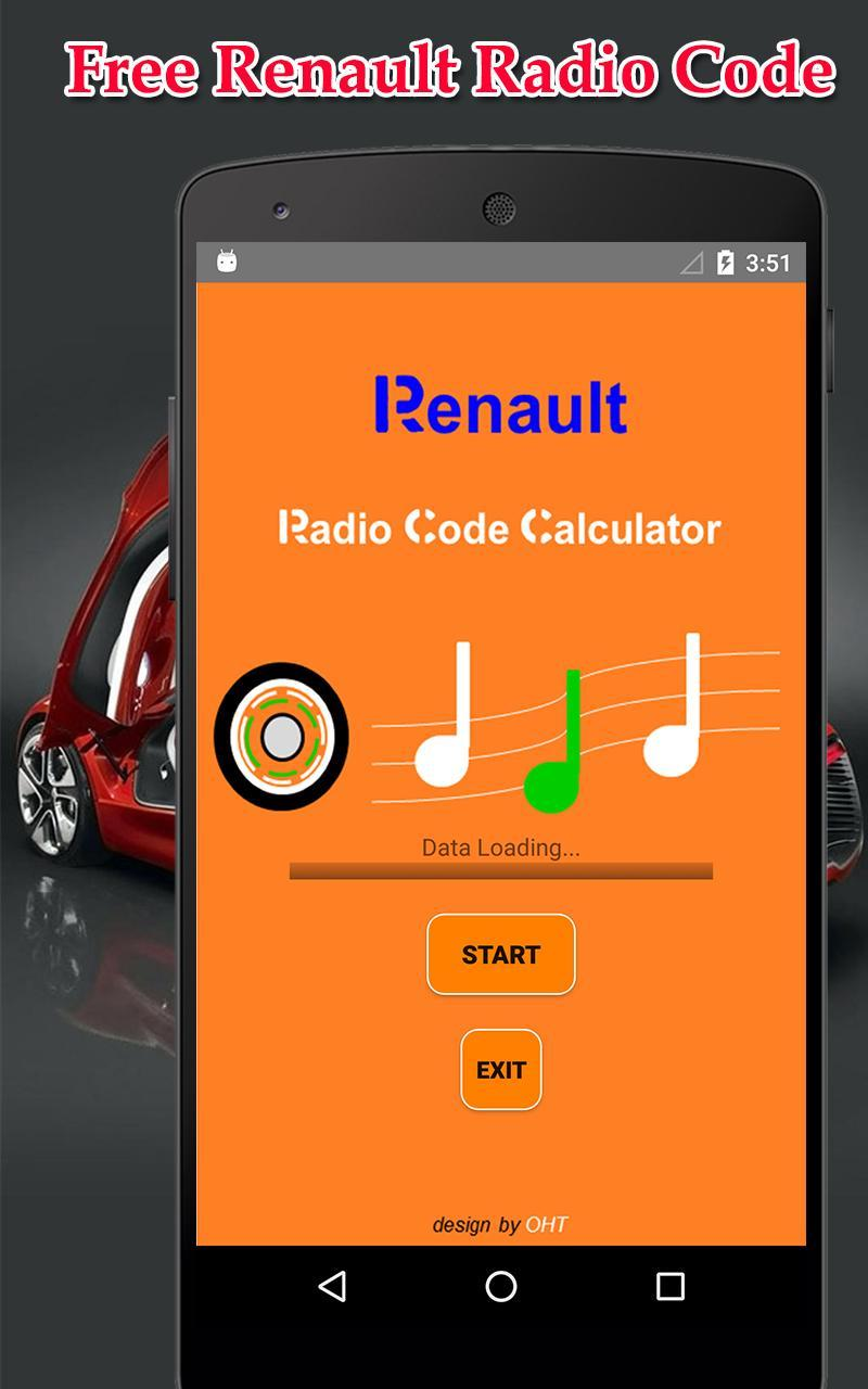 Radio Precode Cal For Renault for Android - APK Download