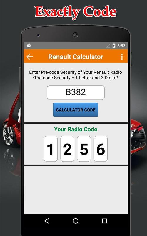 Como desbloquear el radio de mi carro (renault) renault laguna.