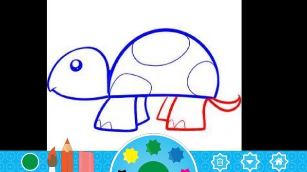 Kids Under 5: Draw and Paint screenshot 1