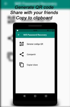 Root Wifi Passwords captura de pantalla 7