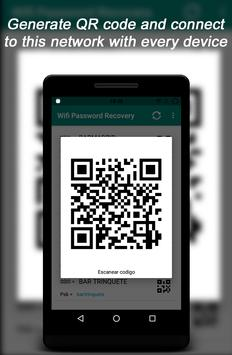 Root Wifi Passwords captura de pantalla 1