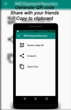 Root Wifi Passwords captura de pantalla 2