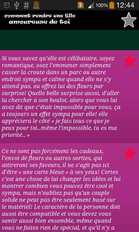 Rendre Une Fille Folle De Toi For Android Apk Download