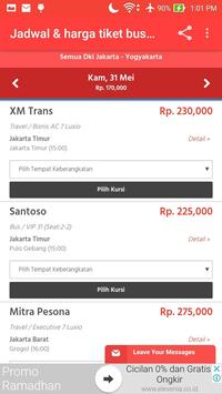 Harga Tiket Bus screenshot 2