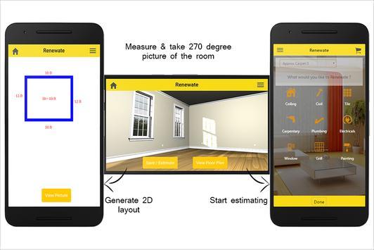 Renewate : Easy Renovation Estimation & Booking apk screenshot