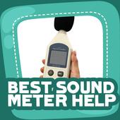 Best Sound Meter Help icon
