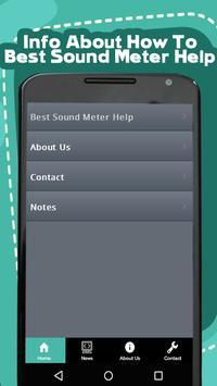 Best Sound Meter Help poster