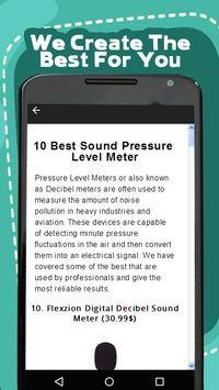 Best Sound Meter Help apk screenshot
