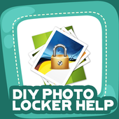 DIY Photo Locker Help icon