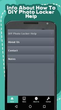 DIY Photo Locker Help poster