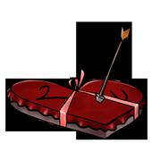 Bright Valentine Camera icon