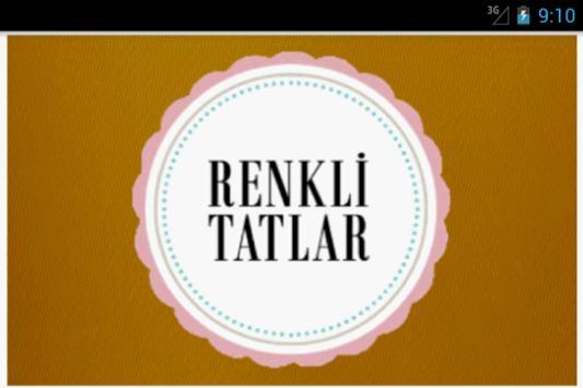 Renkli Tatlar screenshot 1