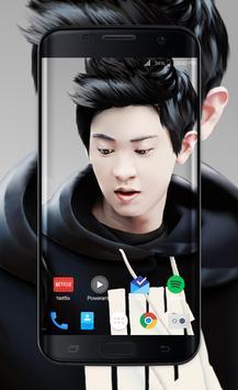 Chanyeol Exo Wallpaper HD poster