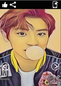 Chanyeol Exo Wallpaper HD screenshot 4