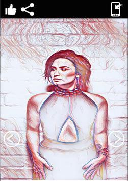 Demi Lovato Wallpaper HD screenshot 2