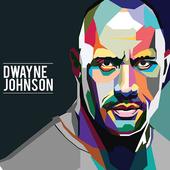 Dwayne Johnson Wallpaper HD icon