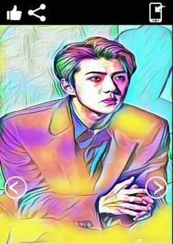 Sehun Exo Wallpaper HD poster