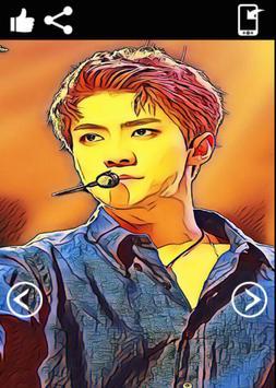 Sehun Exo Wallpaper HD screenshot 7