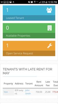 Rental Property Management APP screenshot 3