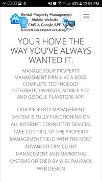 Rental Property Management APP poster