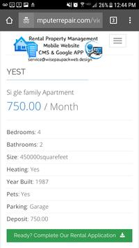 Rental Property Management APP screenshot 4