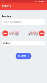 Rentis - Car Rental Software screenshot 1