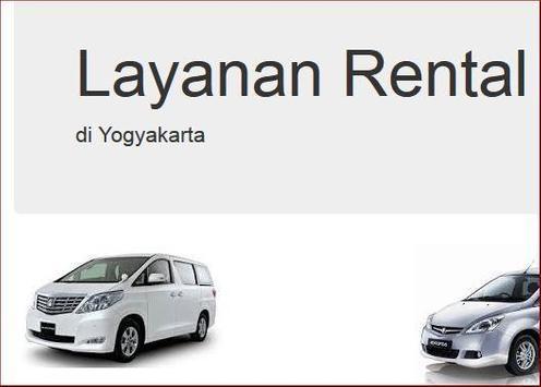 Rental Mobil Yogyakarta poster