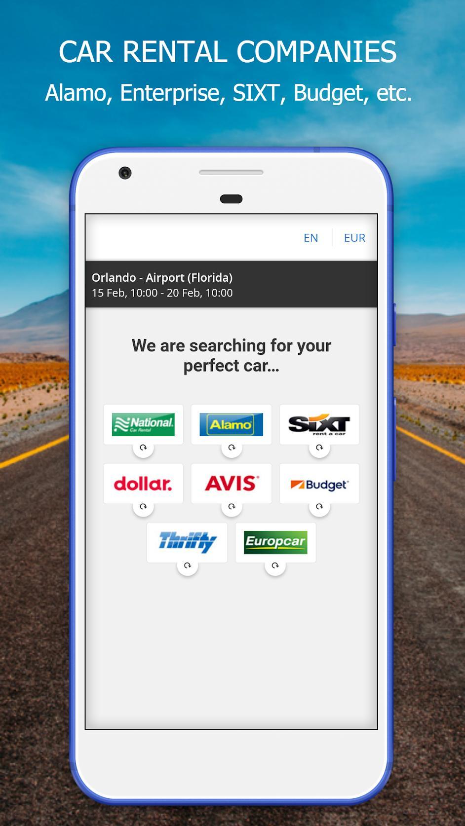 RentalCars24H com - Car Rental App | Cheap Cars for Android - APK