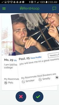 RentHoop - Roommate Finder apk screenshot