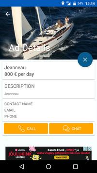 Boats/Yachts for Rent or Sale apk screenshot