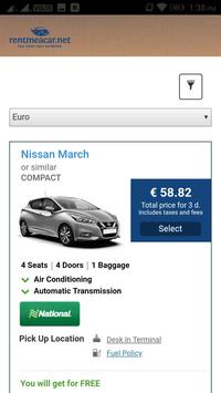 Rent me a Car (rentmeacar.net) screenshot 1