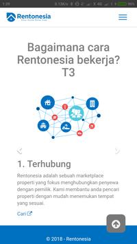 Rentonesia - Property Marketing & Management screenshot 1